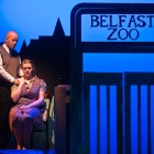 Paul Keohone as the head zookeeper and Lindsay Johnstone as his wife