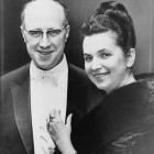 Rostropovich and Vishnevskaya