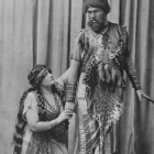 Powell Edwards as Amonasro with Rosina Buckmann as Aida