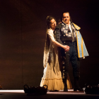 Justina Gringyte as Carmen and Roland Wood as Escamillo