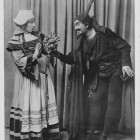 Florence Evelyn as Martha and Robert Radford as Mephistopheles for Beecham Opera