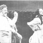 Bill McCue as Le Bailli and Cynthia Buchan as Charlotte