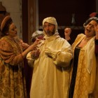 Louise Thomson as La Ciesca, Richard Mein as Gianni Schicchi and Susanne Horsburgh as Zita