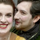 Kitty Whately as Rosina and Nicholas Sharratt as Almaviva
