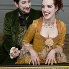 Nicholas Sharratt as Almaviva and Kitty Whately as Rosina