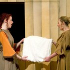 Jessica Leary (Lucia) and Catriona Morison (Bianca)