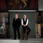 Stuart Stratford, Scottish Opera Music Director and Alex Reedijk, General Director. Scottish Opera