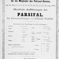 original poster for Parsifal