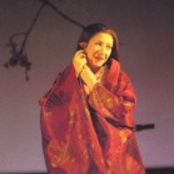 Natalia Dercho as CioCioSan in the original production
