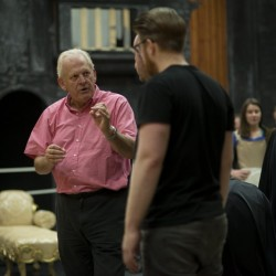 In rehearsals for Don Giovanni