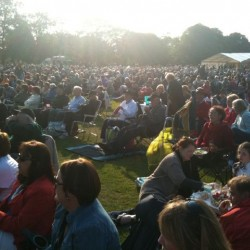 Duthie Park and the audience